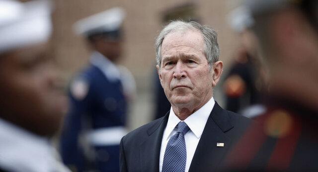 جورج بوش خطاب به آمریکایی ها: در مقابل کرونا متحد باشیم